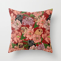 Just the Way You Are  Throw Pillow by Huebucket