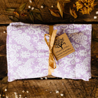 Organic Lavender and Flax Seed Neck Pillow - Hot/Cold