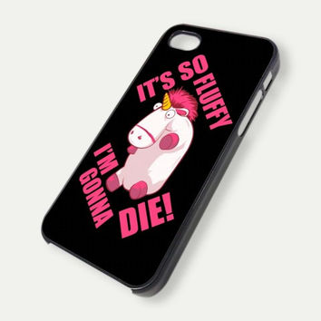 Despicable Me it s so fluffy iPhone Case And Samsung Galaxy Case