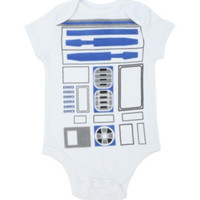 Star Wars R2-D2 Baby Bodysuit