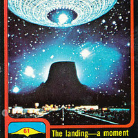 1978 Close Encounters of the Third Kind Trading Cards