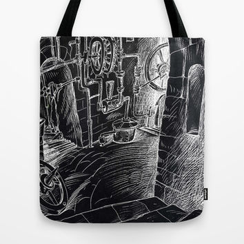 factory of dreams Tote Bag by Marianna Tankelevich