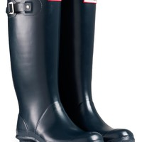 Hunter Ladies' Huntress Wellington Boots - Navy Blue - Footwear - Ladies | Country Attire