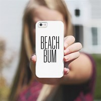 Beach Bum Early 90's Typography iPhone 5s case by Rex Lambo | Casetagram