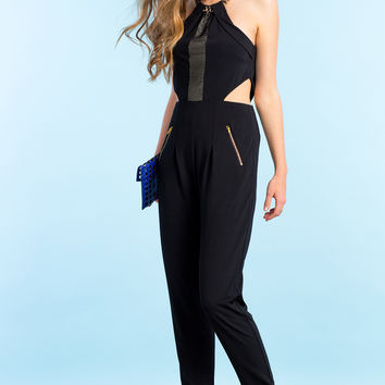Chain Embellished Jumpsuit