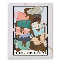 Ten Of Cups (Coffee) Tarot Card