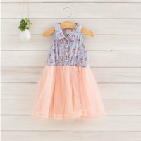 Vintage Inspired Girls Clothes Elaynne Dress | Vindie Baby