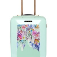 Women's Ted Baker London 'Small Sugar Sweet Floral' Suitcase - Blue/green