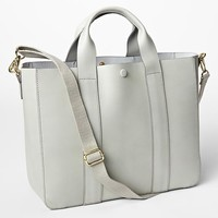 Gap Leather Tote Crossbody Size One Size