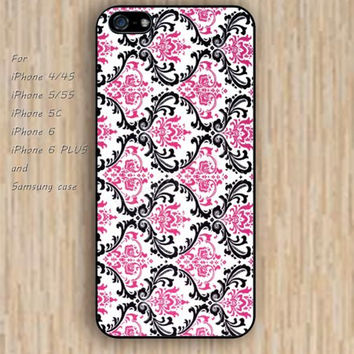iPhone 5s 6 case Dream catcher colorful pink Patterns of lace pattern phone case iphone case,ipod case,samsung galaxy case available plastic rubber case waterproof B434