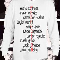 Magcon Is Perfection Long Sleeved Tshirt (Magcon Boys Names)