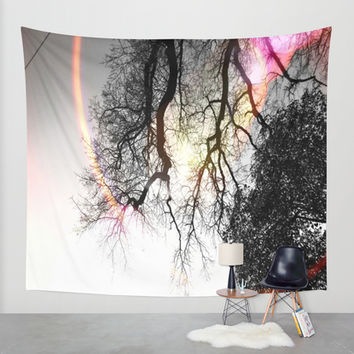 The Optimist Wall Tapestry by DuckyB (Brandi)