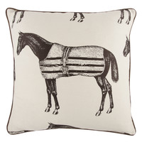 Equestrian Jacquard Pillow design by Thomas Paul