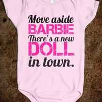 Supermarket: Movie Aside Barbie There's A New Doll In Town from Glamfoxx Shirts