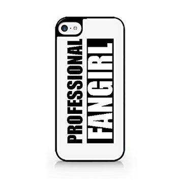 Professional FANGIRL - iPhone 5C Black Case (C) Andre Gift Shop