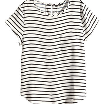 Woven Top - from H&M