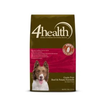 4health™ Grain Free Beef & Potato Dog Food, 4 lb.