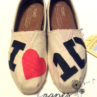 One Direction Painted TOMS