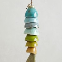 Coldwater Catch Wind Chime by Anthropologie Multi One Size Garden