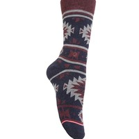 Stance Native Boot Socks - Womens Scarves - Blue - One