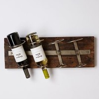 Reclaimed Wine Rack by Anthropologie Brown One Size Office