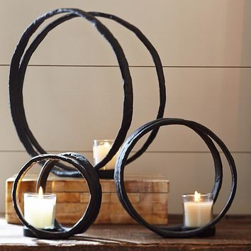 RING VOTIVE CANDLE HOLDERS