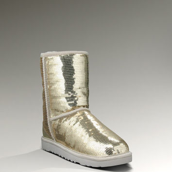 UGG® Classic Short Sparkles for Women | Glittery Boots at UGGAustralia.com