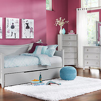Jaclyn Place Gray 3 Pc Daybed Bedroom
