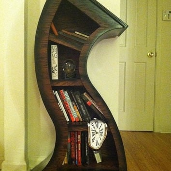 4ft Curved wood shelf by WoodCurve on Etsy