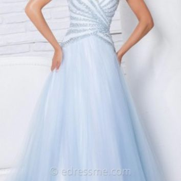 Princess Tulle Prom Gown by Tony Bowls Le Gala