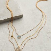 Aussois Layered Necklace by Anthropologie Gold One Size Necklaces