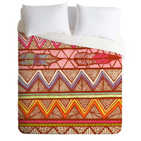 Lisa Argyropoulos Two Feathers Duvet Cover