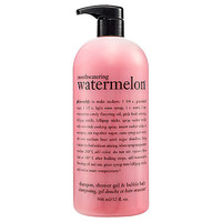 Philosophy Mouthwatering Watermelon™ Shampoo, Shower Gel & Bubble Bath: Body Cleanser | Sephora
