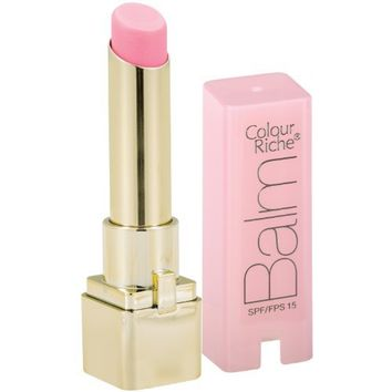 L'Oreal Paris Colour Riche Lip Balm, Pink Satin, 0.10 Ounces