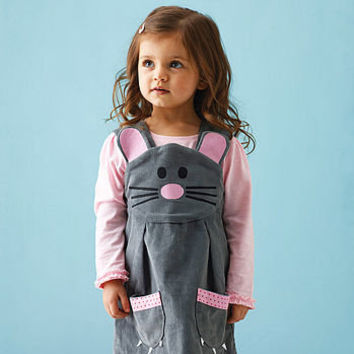 mouse play dress by wild things funky little dresses | notonthehighstreet.com