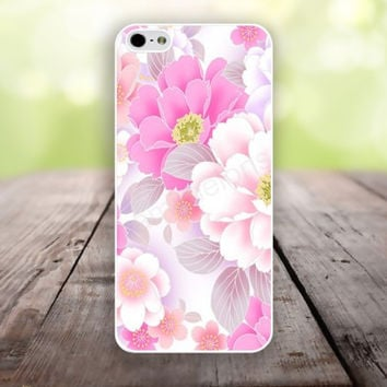 iPhone 5S case hot pink and white flowers iphone 6 plus,Feather IPhone 4,4s case,color IPhone 6,vivid IPhone 5c,IPhone 5 case Waterproof 773