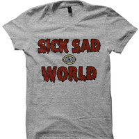 SICK SAD WORLD T-SHIRT DARIA SHIRT DARIA SHOW COOL GIFTS GREAT GIFTS FOR TEENS BIRTHDAY GIFTS CHRISTMAS GIFTS