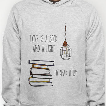Love Is A Book Hoody by Nan Lawson   Society6