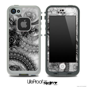 Black Abstract Lace Skin for the iPhone 4/4s or 5 by TheSkinDudes