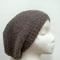 Wool slouch hat  beanie  mens hats  womens hats  4808