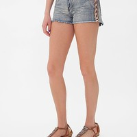 White Crow Embellished Short