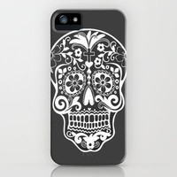 hipster skull iPhone Case | Society6