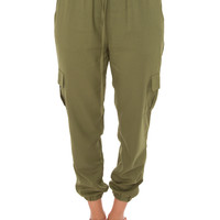 Always Right Jogger Pants - Olive