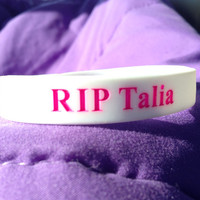 Just keep swimming RIP Talia baller bands by kaliskustomboutique