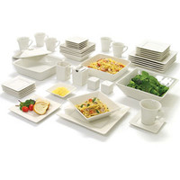 Walmart: 10 Strawberry Street Nova Square Banquet 45-Piece Dinnerware Set