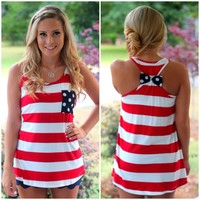 fourth of july boutique tank | shopofftheracks.com