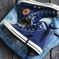 Converse Womens Washed Vintage Twill Chuck