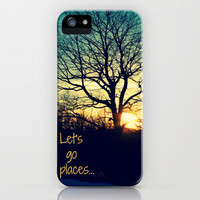 Let's Go Places iPhone Case by RDelean | Society6