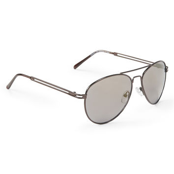 Aeropostale  Aviator Sunglasses - Brown, One