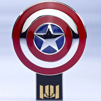 AVENGERS USB Flash Drive Captain America Shield 8GB NEW